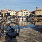 Ein schöner Radweg, auf dem man die ganze Küste Sloweniens entdecken kann